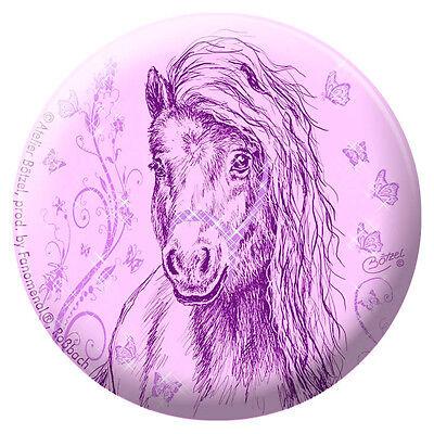 Equitaner Highlights Anstecknadel Pin Button Christina Bötzel Pferde • 03880 •