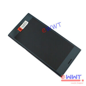 for-Sony-Xperia-XZ-Premium-G8141-Black-Assembly-LCD-Screen-w-Back-Cover-ZVLQ565