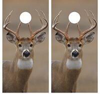 Whitetail Buck Deer Hunting Cornhole Board Decal Wrap Wraps