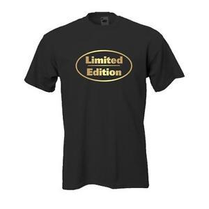 Limited Edition, Fun T-Shirt witziges Sprüche Spaß Shirt edel bedruckt (FS023)