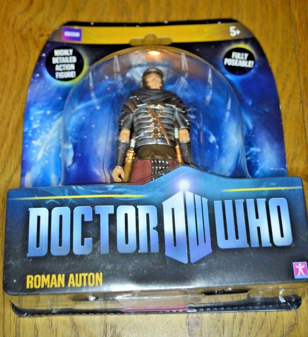 Modern Vintage Dr Who Action Action Action Figure Roman Auton; Factory Sealed 323d03