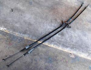 NISSAN-S13-SILVIA-180SX-SR20DET-CA18-handbrake-cable-pair-sec-h