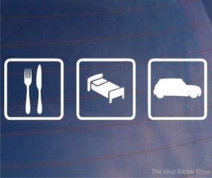 EAT-SLEEP-MINI-Funny-EURO-Car-Van-Window-Bumper-Laptop-Vinyl-Sticker-Decal
