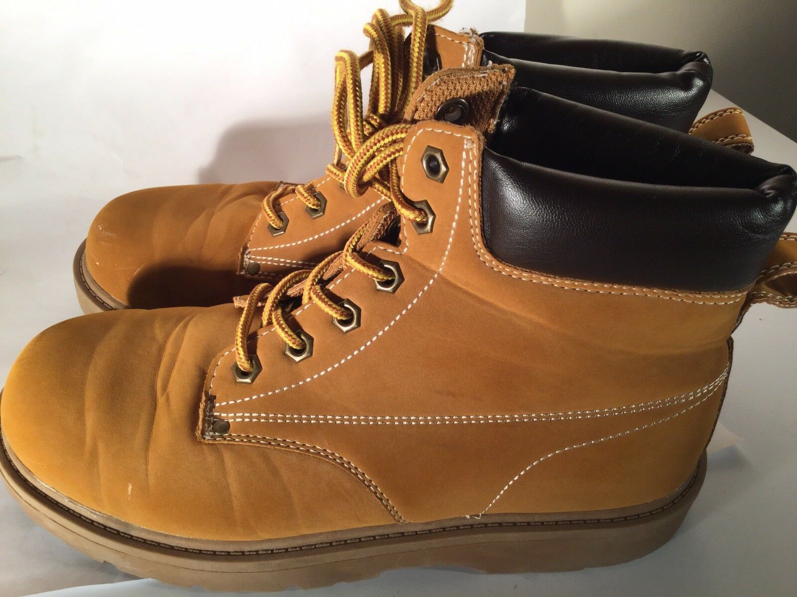Men's Boots Size 8.5 Work 57147 Occupational Yellow Target 17730 57147 Work f6885c