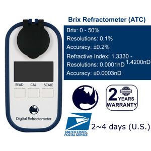 0-50-Brix-Maple-syrup-Jam-Sauces-Juice-Concentrates-Refractometer-IP65