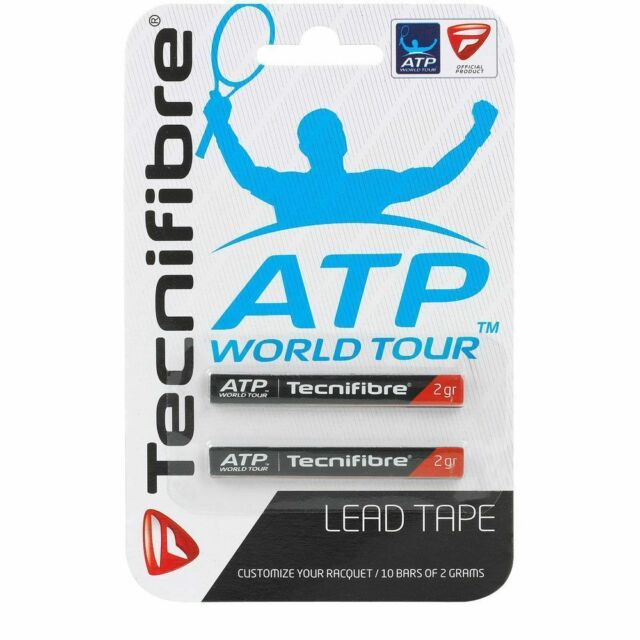 Tecnifibre Lead Tape Tennis Badminton Squash Racquet Weighting Tape