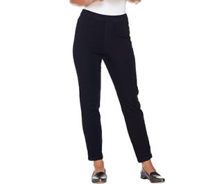 Isaac-Mizrahi-Live-Tall-24-7-Denim-Ankle-Jeans-With-Zips-Size-14-Dark-Indigo
