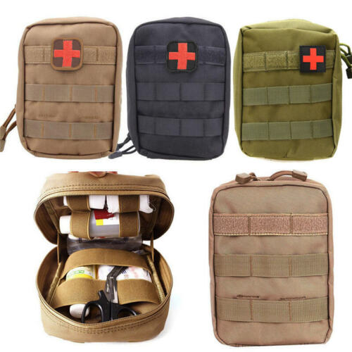 Tactical Molle Rip Away EMT Medical First Aid IFAK Pouch Utility Bag Bag Only