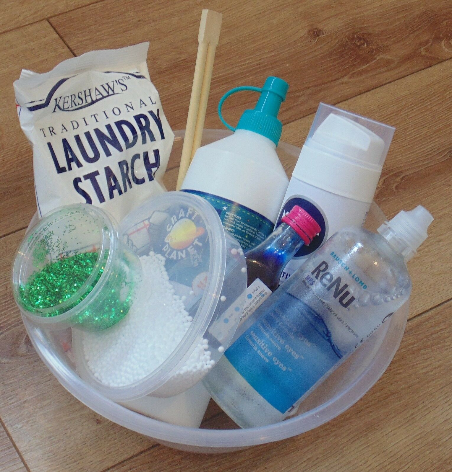 Slime Kit - Large Make Your Own Slime at Home DIY Kit, Fluffy Slime, Floam.