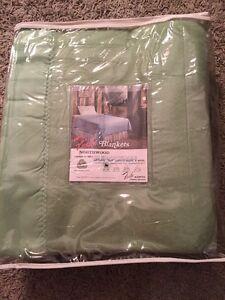 New Vintage Farbio Twin Green Northwood Superwash Wool