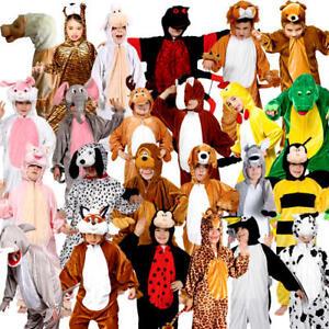 11fbf8d26c9e Storybook Animal Kids Fancy Dress Book Day Week Boys Girls Childrens ...