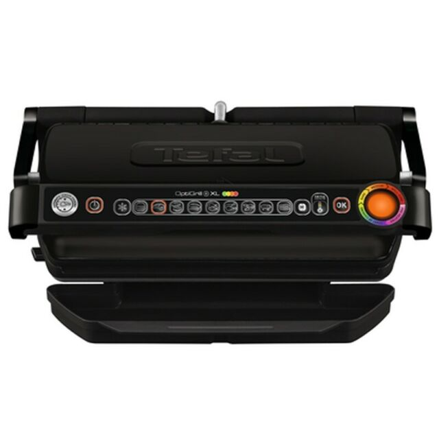 Tefal GC7228 OptiGrill+ XL Intelligenter Kontaktgrill Elektrogrill mit Sensor