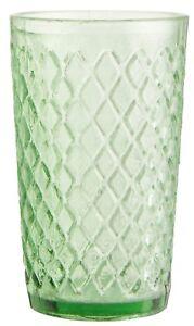 Ib-Laursen-Glasteelicht-Glas-Teelicht-Windlicht-Raute-gruen-Teelichtglas