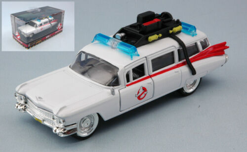 CADILLAC GHOSTBUSTERS 1959 ECTO-1 CM 12,5 MOVIE JADA TOYS SCALA 1:32 MODEL