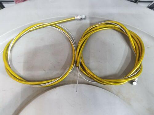NOS Gold 1983 Dia Compe brake cable set Old School Bmx Vintage mx-1000 900 Dated