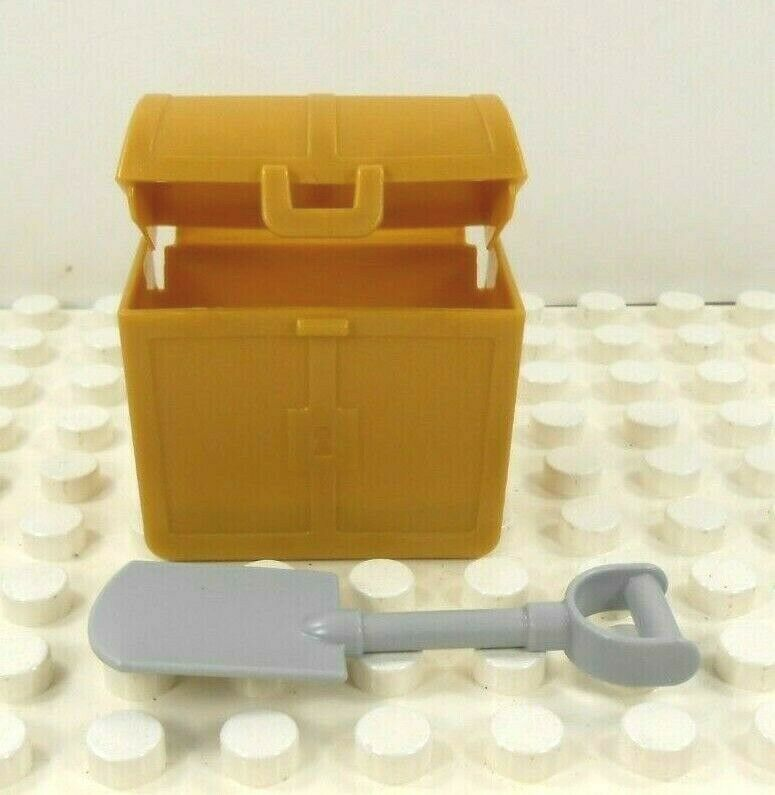 Lego Duplo Item Treasure Chest w// shovel