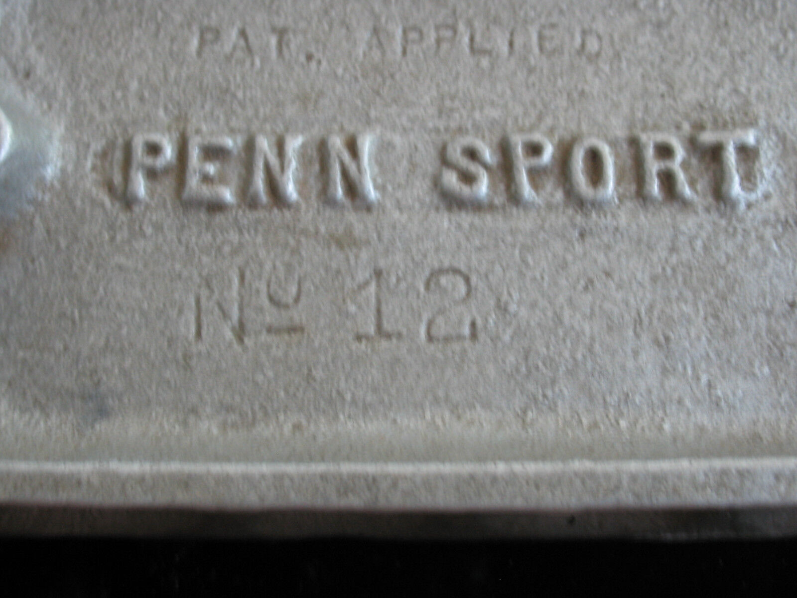 PENN SPORT NO.12 LEAD MOLD