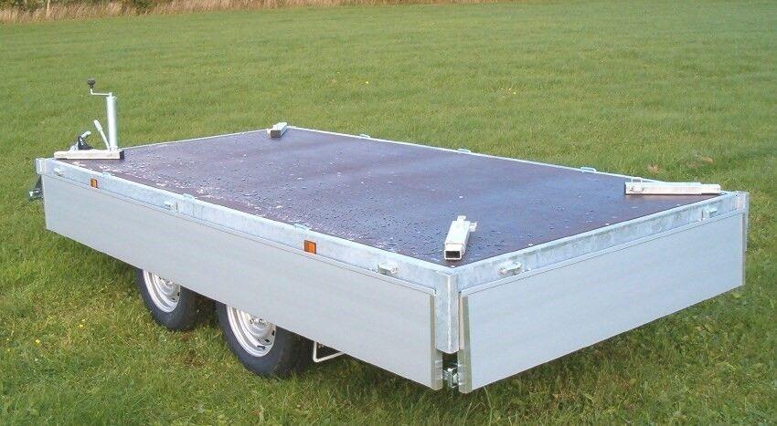 Maskintrailer, EDUARD 4020-3500 MULTI, lastevne (kg):