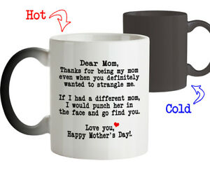Image Is Loading Coffee Mug Birthday Gift For Mom Thanks
