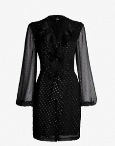 PAIGE Isabelle Dress, schwarz, Größe Small, NWT