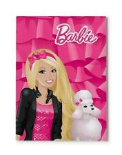 NICI 34377-NICI-blocco di carta Barbie & barboncino Sequin DIN a5 Rosa