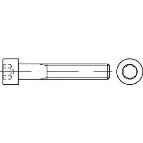 200 x CAB FASTENING Zylinderschrauben mit Innensechskant DIN 912 10.9 M 4 x 65