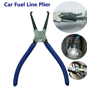 Car Fuel Line Petrol Pipe Hose Connector Quick Release Removal Plier Auto Tool