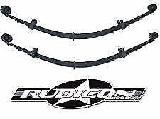 "XJ Bushing Rubicon Express RE1463 Leaf Spring 84-01 Cherokee 3.5/"" Lift Incl"