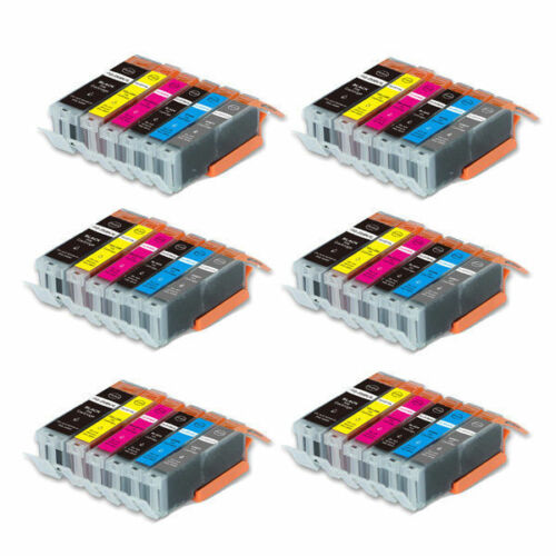 36 New Ink Set smart chip for Canon PGI-250XL CLI-251XL MG6320 MG7120 MG7520