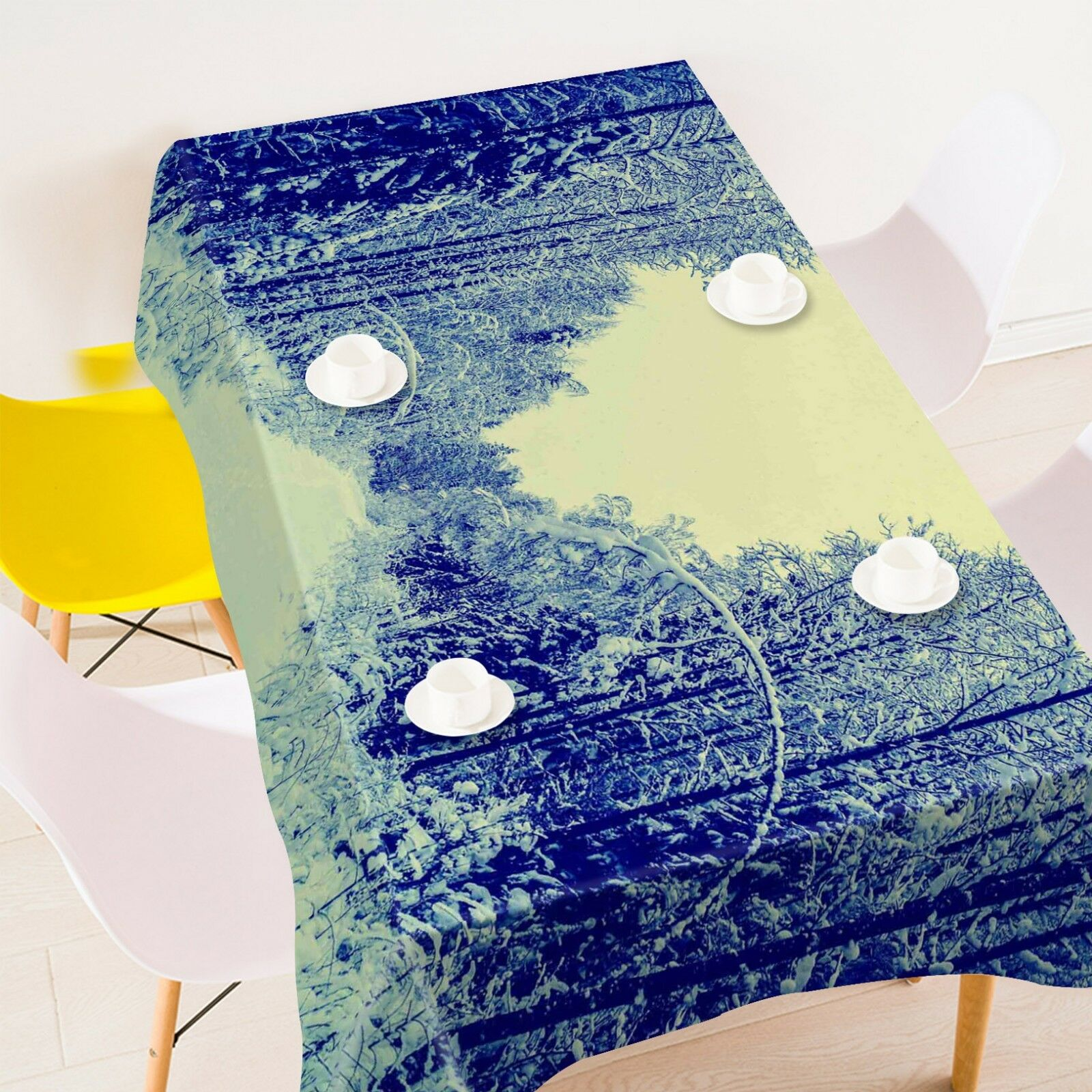 3D Forest Image 066 Tablecloth Table Cover Cloth Birthday Party Event AJ Summer