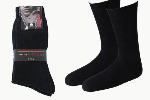 10 Paar Herren Business Socken schwarz 100/% BW handgekettelt ohne Naht Art 234