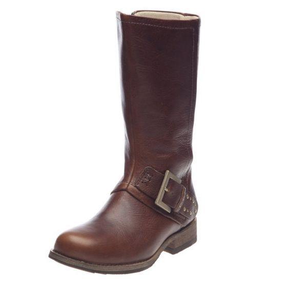 CATERPILLAR P305080 PAYTON Wmn's (M) Peanut Leather Casual  Boots