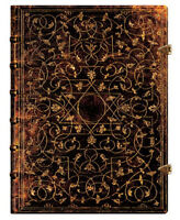 "Paperblanks Journal ""grolier"" Lined Ultra 7x9 Book Writing"