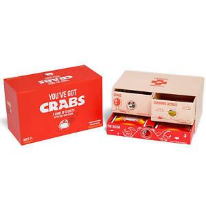 You-039-Ve-Got-Crabes-Famille-Amical-Carte-Jeux-de-Fabricants-de-Explosives-Ki