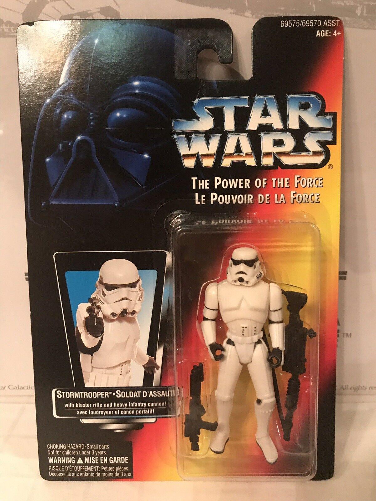 Star Wars le pouvoir de la force Stormtrooper canadien français Carré Carte