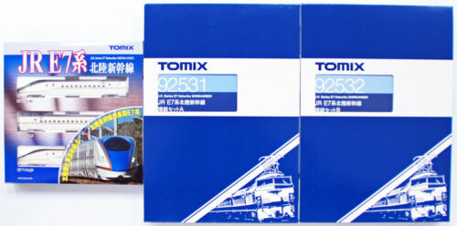 Tomix 92530 92531 92532 JR Series E7 Hokuriku Shinkansen 12 Cars Set (N scale)