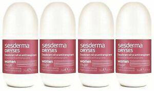 Pack-4x-Sesderma-Dryses-Deodorant-Antitranspirant-Roll-On-Women-2-5oz