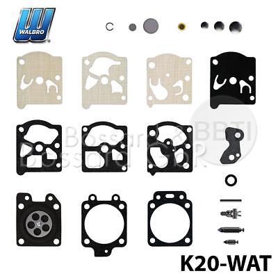 Reparatursatz ersetzt Walbro K20-WAT Dichtung Set WA WT Vergaser STIHL Dolmar FS