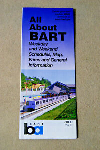 All-About-BART-Weekday-amp-Weekend-Schedules-Map-Fares-May-2001