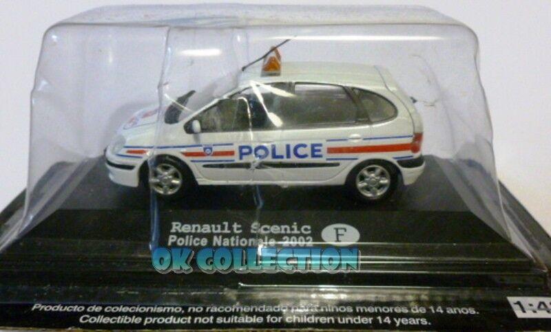 1 43 Polizia Internazionale   Police -RENAULT SCENIC - Polizia Francia 2002 (08)