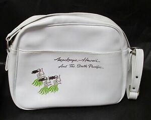 Hawaii Souvenir Promotional Bag Plastic Hawaii Themed Bag Mackenzie Hawaii MacKenzie State Park Vintage Travel Bag