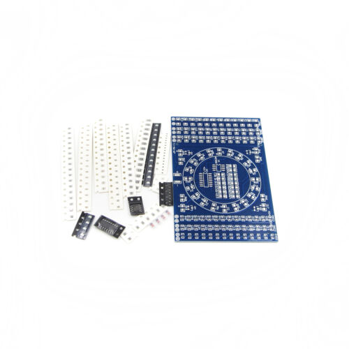 NE555 Rotating LED SMD  Welding Training Skills Training Board DIY Kits CD4017