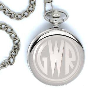 GWR-GREAT-WESTERN-RAILWAY-Grabado-Reloj-De-Bolsillo
