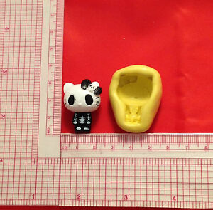 Hello-Kitty-Gothic-Silicone-Push-Mold-A830-Candy-Chocolate-Fondant-Soap