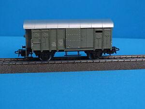 Marklin-312-1-4605-SBB-Closed-Goods-Grey-RARE-version-1-K-6-in-OVP