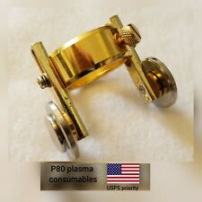 3pcs Plasma Cutter Torch Consumables Roller Guide Wheel Pulleys for P80 Torch