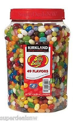 4 LB Original Jelly Belly Beans - 49 Flavors - Kirkland (64 oz.) - FREE SHIPPING
