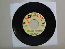 """BARRY EBLING & THE INVADERS:I Can Make It Without You-Sunny Day Rain-U.S.7"""" 1967"""