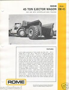 Equipment-Brochure-Rome-RW-45-Ejector-Wagon-for-CAT-631D-1977-EB990
