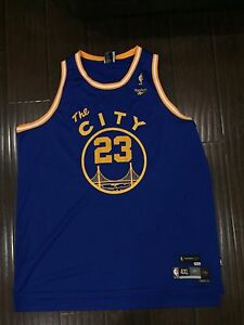 save off a5812 03ba7 Details about RARE🔥 Reebok NBA 1966-67 Golden State Warriors Jason  Richardson Sewn Jersey 4XL
